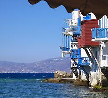Mykonos by the seaside by kateabell