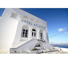 Santorini serenity Photographic Print