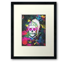 Born This Way Splatter Framed Print