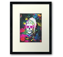 Born This Way Splatter Framed Print