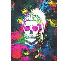 Born This Way Splatter Photographic Print
