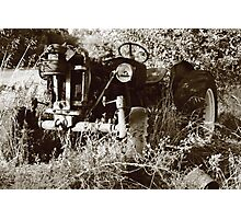 machine in time Photographic Print