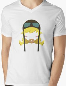 Shinobu Mens V-Neck T-Shirt