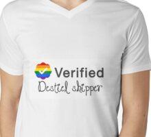Verified Destiel Shipper Mens V-Neck T-Shirt