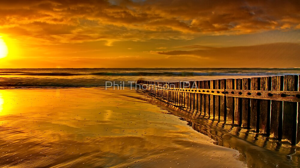 """""""Torquay Golden Morning"""" by Phil Thomson IPA"""