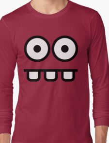 Goofy Face Long Sleeve T-Shirt