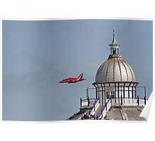 A single red arrow at Airbourne in Eastbourne Poster