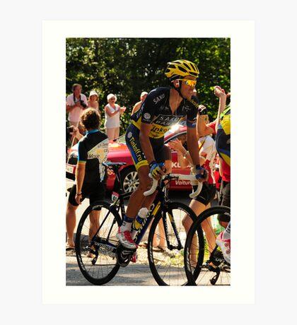 Alberto Contador Art Print