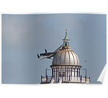 A Lancaster at Airbourne in Eastbourne Poster