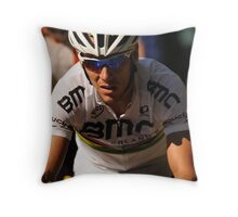 Philippe Gilbert Throw Pillow