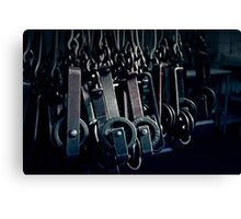 The Texas Chainsaw Massacre - Slaughterhouse #2 Canvas Print
