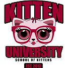 Kitten University - Pink by Adamzworld