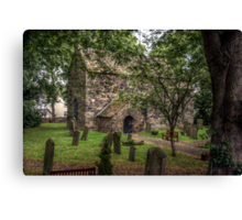 Escomb Saxon Church Canvas Print