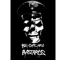 "ACAB ""ALL COPS ARE BASTARDS"" T-SHIRT Photographic Print"