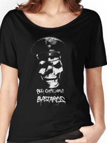 """ACAB """"ALL COPS ARE BASTARDS"""" T-SHIRT Women's Relaxed Fit T-Shirt"""