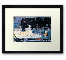 resurface Framed Print