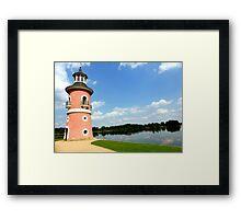Moritzburg Castle Lighthouse Framed Print