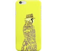 Watchmen - Rorschach Typography iPhone Case/Skin