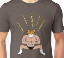 Man Tiger Attacks with thunder fist bump Unisex T-Shirt