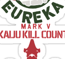 Striker Eureka Kaiju Kills Sticker
