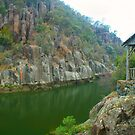 Resting spot on Cataract Gorge by Michael Matthews