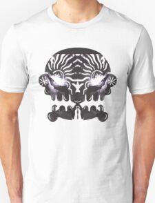 Mirrored Skull. Unisex T-Shirt