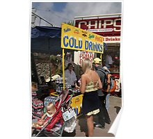Cold drinks for sale in Eastbourne Poster