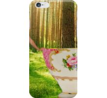 I'm a little teapot, short and stout (resized) iPhone Case/Skin
