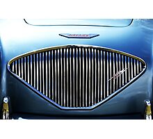 Austin Healey 100, Grill Photographic Print