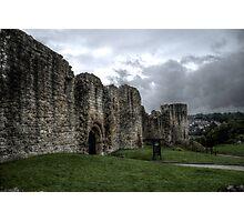 Barnard Castle Norman Ruin Wall Photographic Print