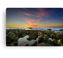 Cascade Calm Canvas Print