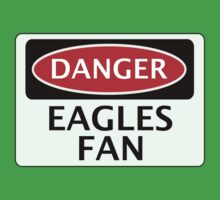 DANGER CRYSTAL PALACE, EAGLES FAN, FOOTBALL FUNNY FAKE SAFETY SIGN One Piece - Short Sleeve