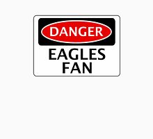 DANGER CRYSTAL PALACE, EAGLES FAN, FOOTBALL FUNNY FAKE SAFETY SIGN Unisex T-Shirt