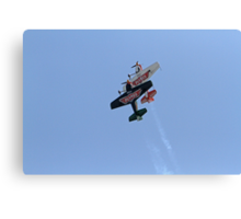 The Matadors fly disney planes at Airbourne in Eastbourne Canvas Print