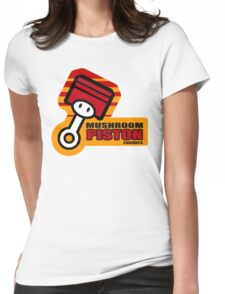 Mario Kart 8 Mushroom Piston Engines - Square Womens Fitted T-Shirt