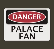 DANGER CRYSTAL PALACE, PALACE FAN, FOOTBALL FUNNY FAKE SAFETY SIGN by DangerSigns