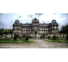 Bowes Museum Facade Photographic Print