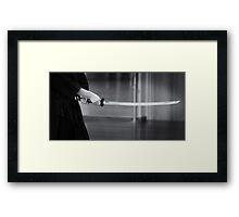 Iaito Framed Print