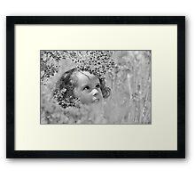 Hide & Seek Framed Print