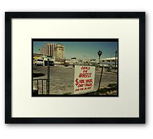 Deals on Wheels in Kodachrome Framed Print