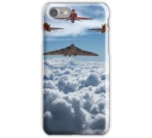 Vulcan and Red Arrows farewell flight iPhone Case/Skin