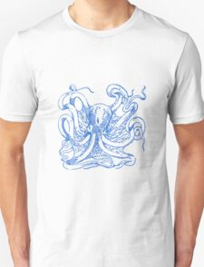 watch the octopus in the eye Unisex T-Shirt