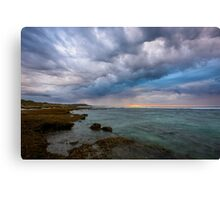 Ominous Skies Canvas Print