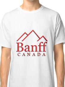 Banff Alberta Canada Logo Classic T-Shirt