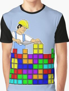 Brick Layer Graphic T-Shirt