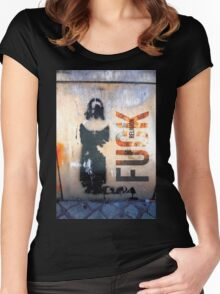 Nun Tee. Women's Fitted Scoop T-Shirt