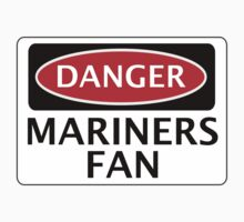 DANGER GRIMSBY TOWN, MARINERS FAN, FOOTBALL FUNNY FAKE SAFETY SIGN One Piece - Long Sleeve