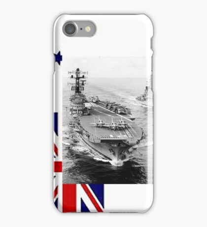 R21, HMAS Melbourne, 1977. iPhone Case/Skin