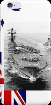 R21, HMAS Melbourne, 1977. by Peter Doré