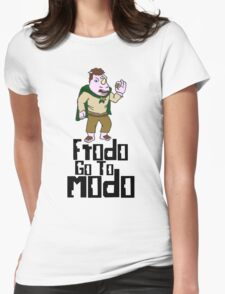frodo go to modo Womens Fitted T-Shirt